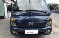 Bán xe Hyundai H100, 1 tấn, máy cơ, SX 2015, ĐK 24/12/2016 màu xanh, thùng kín giá 305 triệu tại Nghệ An