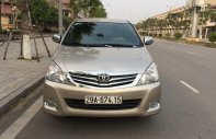 Chính chủ gia đình tôi cần bán chiếc Toyota Innova 2.0G 2010 màu vàng cát, xố sàn, chính chủ gia đình LH 0986860295 giá 388 triệu tại Hà Nội