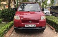 Cần bán Suzuki APV đời 2007, xe màu đỏ giá 185 triệu tại Hà Nội