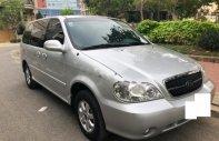 Cần bán lại xe Kia Carnival GS 2.5 MT sản xuất năm 2007, màu bạc   giá 205 triệu tại Tp.HCM
