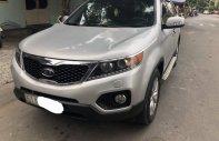 Bán Kia Sorento 2.4L đời 2013 số tự động, màu bạc xe gia đình sử dụng kỹ nên còn khá mới giá 580 triệu tại Tp.HCM
