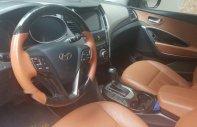 Cần bán Hyundai Santa Fe đời 2012, màu đen, nhập khẩu xe gia đình giá 770 triệu tại Hà Nội