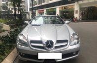 Mercedes SLK 200 màu bạc đời 2010, nhập khẩu nguyên đăng ký 2011 biển Hà Nội giá 789 triệu tại Hà Nội