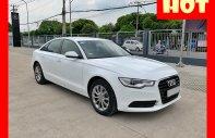 Bán xe Audi A6 màu trắng 2014. Trả trước 450 nhận xe ngay giá 1 tỷ 360 tr tại Tp.HCM