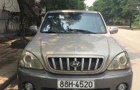 Cần bán xe Hyundai Terracan G năm 2004, màu ghi vàng, nhập khẩu nguyên chiếc giá 179 triệu tại Hà Nội