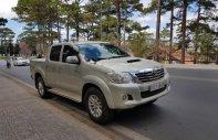 Bán Toyota Hilux 3.0G 4x4 MT 2011, màu vàng, xe nhập, chính chủ giá 465 triệu tại Gia Lai