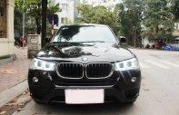 Xe BMW X3 xDrive20i màu đen nâu/ kem xe sản xuất 2014 đăng ký 2015 biển Hà Nội giá 1 tỷ 350 tr tại Hà Nội