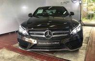 Xe Mercedes C300 AMG nâu, ĐK 8/2018, bảo hành chính hãng giá 1 tỷ 830 tr tại Tp.HCM