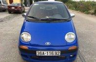 Bán xe Daewoo Matiz năm sản xuất 2000, màu xanh lam xe gia đình giá 50 triệu tại Ninh Bình
