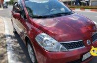 Gia đình bán Nissan Tiida 1.6 AT năm 2008, màu đỏ   giá 340 triệu tại Tp.HCM