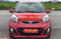 Bán Kia Picanto 1.25 AT limeted đời 2013, màu đỏ giá 338 triệu tại Hà Nội