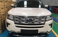 Bán xe Ford Explorer sản xuất 2018, màu trắng, nhập khẩu nguyên chiếc giá 2 tỷ 268 tr tại Tp.HCM
