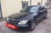 Cần bán gấp Mercedes S320 năm sản xuất 2001, nhập khẩu nguyên chiếc giá cạnh tranh giá 390 triệu tại Tp.HCM
