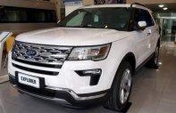 Bán Ford Explorer sản xuất năm 2018, màu trắng, nhập khẩu giá 2 tỷ 268 tr tại Tp.HCM