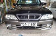 Bán Ssangyong Musso AT năm 2005, màu đen, nhập khẩu số tự động, xe đẹp nguyên bản giá 165 triệu tại An Giang