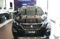 Bán ô tô Peugeot 5008 1.6 AT sản xuất năm 2019, màu đen giá 1 tỷ 340 tr tại Tp.HCM