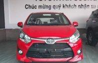 Cần bán Toyota Wigo 1.2AT năm sản xuất 2019, màu đỏ, xe nhập giá 405 triệu tại Tp.HCM