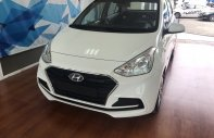 Bán Hyundai Grand I10 sedan Base trắng giao ngay, lấy xe chỉ với 120tr, hỗ trợ đăng ký Grab! LH: 0903 17 53 12 giá 350 triệu tại Tp.HCM