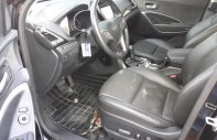 Bán Hyundai SantaFe 4WD 2.4AT màu đen VIP, máy xăng, bản full 2 cầu, số tự động, sản xuất 2015, biển Sài Gòn giá 876 triệu tại Tp.HCM
