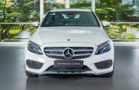 Bán xe Mercedes-Benz C300 AMG, 2017, màu trắng, mới 99%, đi 38km, 2% thuế trước bạ giá 1 tỷ 899 tr tại Tp.HCM