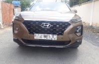 Cần thanh lý xe Hyundai Santa Fe 2019 full dầu màu vàng cát, xe đẹp giá tốt giá 1 tỷ 260 tr tại Tp.HCM
