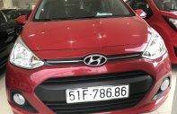 Bán Hyundai Grand i10 2016, màu đỏ, nhập khẩu nguyên chiếc giá 440 triệu tại Tp.HCM