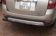 Cần bán gấp Chevrolet Captiva đời 2009, màu vàng, xe nhập xe gia đình giá 300 triệu tại Thanh Hóa