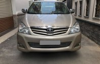 Gia đình cần bán Toyota Innova G SR 2010, số sàn, màu vàng cát giá 435 triệu tại Tp.HCM