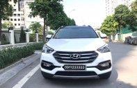 Bán ô tô Hyundai Santa Fe full máy dầu đời 2017, màu trắng, nhập khẩu nguyên chiếc giá 1 tỷ 100 tr tại Hà Nội