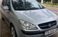 Cần bán xe Hyundai Getz 1.1 MT 2009, màu bạc giá 215 triệu tại Bình Định