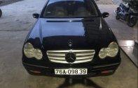 Cần bán lại xe Mercedes C200K MT sản xuất 2003, màu đen còn mới giá 175 triệu tại Quảng Ngãi
