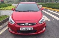Cần bán gấp Hyundai Accent Blue đời 2014, màu đỏ số tự động, 465 triệu giá 465 triệu tại Hà Nội