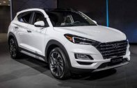 Bán Hyundai Tucson đời 2019, màu trắng, nhập khẩu. Xe giao ngay giá 799 triệu tại Tp.HCM