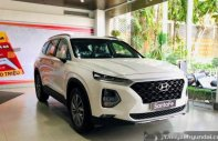 Bán Hyundai Santa Fe đời 2019, màu trắng. Ưu đãi lớn giá 1 tỷ 20 tr tại Tp.HCM