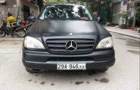 Bán Mercedes ML 320 đời 2002, màu đen, nhập khẩu, số tự động giá 250 triệu tại Hà Nội