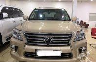 Cần bán lại xe Lexus LX 570 đời 2009, màu vàng, nhập khẩu   giá 2 tỷ 900 tr tại Hà Nội