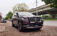 Bán Lincoln Navigator L Black Label 2019 màu đỏ đun, nội thất nâu đỏ, xe nhập khẩu nguyên chiếc mới 100% giao ngay giá 8 tỷ 850 tr tại Hà Nội