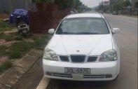 Bán lại xe Daewoo Lacetti sản xuất 2005, màu trắng, xe nhập xe gia đình giá 100 triệu tại Lào Cai