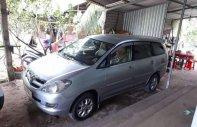Cần bán lại xe Toyota Innova G đời 2007, màu bạc xe gia đình, giá 310tr giá 310 triệu tại Trà Vinh
