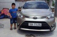 Gia đình bán Toyota Vios E-CVT năm sản xuất 2018, màu vàng cát giá 515 triệu tại Nam Định