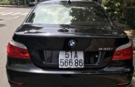 Bán BMW 5 Series 530i đời 2007, màu đen, nhập khẩu giá 650 triệu tại Tp.HCM