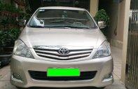 Cần bán Toyota Innova G đời cuối  2011 màu ghi vàng giá 426 triệu tại Tp.HCM