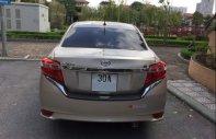 Bán gấp chiếc Toyota Vios E, sản xuất cuối 2014, số sàn, màu vàng cát giá 375 triệu tại Hà Nội
