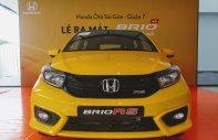 Honda Brio RS 2019, màu vàng, giao ngay, hỗ trợ vay 90%, giá tốt giá 448 triệu tại Tp.HCM