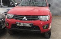 Bán Mitsubishi Triton GL sản xuất năm 2014, màu đỏ, nhập khẩu giá 322 triệu tại Hà Nội