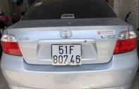 Cần bán Toyota Vios G năm sản xuất 2005, màu bạc, nhập khẩu Thái Lan, đi được 128.000 km giá 220 triệu tại Tp.HCM