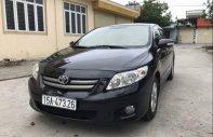Cần bán gấp Toyota Corolla altis đời 2010, màu đen, nguyên bản, không đâm đụng va chạm giá 390 triệu tại Hải Phòng