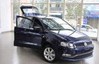 Bán Volkswagen Polo 1.6AT đời 2014, màu xanh lam, nhập khẩu   giá 500 triệu tại Khánh Hòa