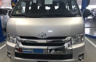 Bán ô tô Toyota Hiace 3.0l máy dầu 15 chỗ sản xuất 2019, màu bạc giá 949 triệu tại Tp.HCM