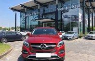 Bán Mercedes GLE 400 Coupe màu đỏ/kem sản xuất 2018 đăng ký 2019, tên tư nhân giá 4 tỷ 180 tr tại Hà Nội